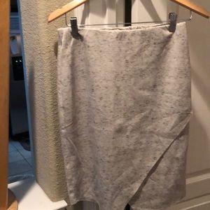 Bar III Grey skirt